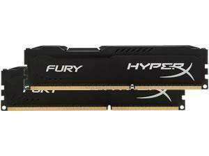 Kingston HyperX Fury Black 16GB 2x8GB DDR3 PC3-14900 1866MHz Dual Channel Kit