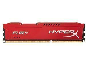 Kingston HyperX Fury Red 8GB DDR3, 1866MHz Memory RAM Module