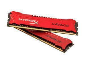 Kingston HyperX Savage Red 8GB DDR3 2133Mhz Dual Channel Memory RAM Kit