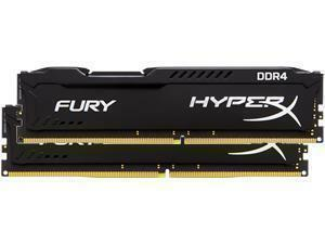 Kingston HyperX Fury Black 16GB 4x4GB DDR4 PC4-1700 2133MHz Dual Channel Kit