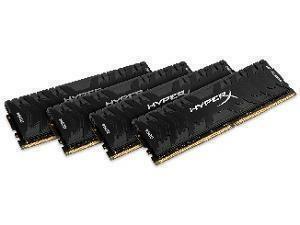 Kingston HyperX Predator 64GB (4 x 16GB) DDR4 2400MHz Quad Channel Memory (RAM) Kit