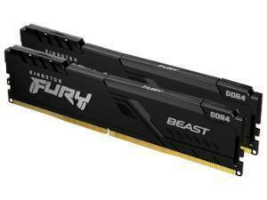 Kingston FURY Beast 16GB 2x8GB DDR4 3200MHz Dual Channel Memory RAM Kit