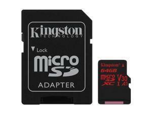 Kingston Canvas React 64GB MicroSDXC Memory Card