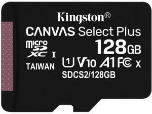 Kingston Canvas Select Plus 128GB MicroSD Memory Card