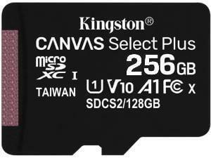 Kingston Canvas Select Plus 256GB MicroSD Memory Card
