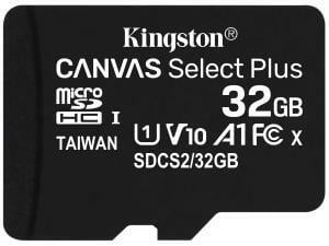 Kingston Canvas Select Plus 32GB MicroSD Memory Card