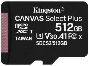 Kingston Canvas Select Plus 512GB MicroSD Memory Card