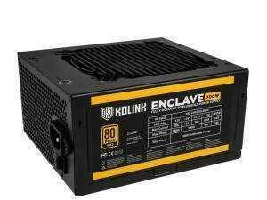 *B-stock item - 90 days warranty*Kolink Enclave 700W 80 Plus Gold Modular Power Supply