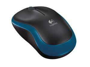 Logitech M185 Wireless Mouse - Blue
