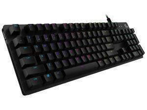 Logitech G512 Special Edition USB RGB LED Gaming Keyboard with Mechanical XG Blue Switches