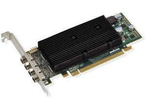 Matrox M9148 LP for Quad DVI / Display Port 1GB GDDR3