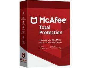 McAfee Total Protection - 1 Device, 1 Year