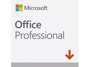 Microsoft Office Professional 2019 - Win, Mac - English - Electronic Software Download