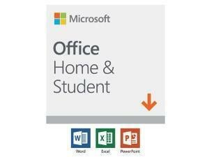 Microsoft Office Home And Student 2019 - Win/Mac – English - Electronic Software Download