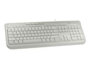 Microsoft Wired Keyboard 600 - White - Mac/Win - USB