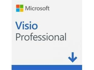 Microsoft Visio Professional 2019 - Win, English - Electronic Software Download
