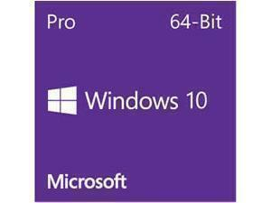 Windows 10 Professional 64Bit English DVD - OEM