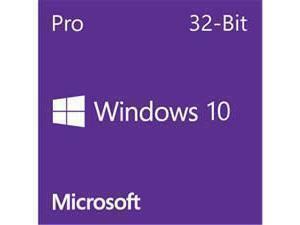 Windows 10 Professional 32Bit English DVD - OEM