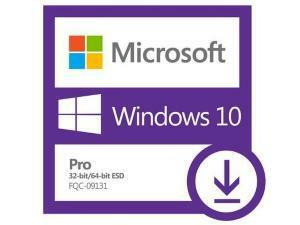 Windows 10 Professional Creators - 32-bit/64-bit, English – Electronic Software Download