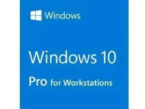Microsoft Windows 10 Professional for Workstations, 64-bit English DVD, OEM