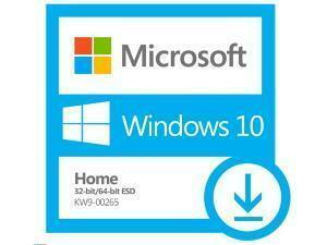 Microsoft Windows 10 Home Creators 32-Bit/64-Bit English - Electronic Software Download