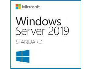 Microsoft Windows Server Standard 2019 - OEM - 16 Core Licence - DVD