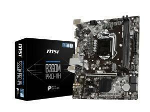 MSI B360M PRO-VH LGA1151 B360 Micro-ATX Motherboard