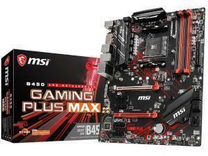 MSI B450 GAMING PLUS MAX AMD B450 Chipset Socket AM4 ATX Motherboard