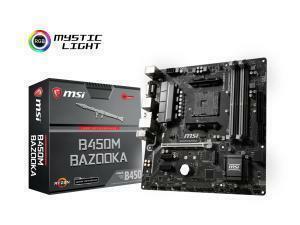 MSI B450M Bazooka AMD AM4 B450 Chipset Micro-ATX Motherboard