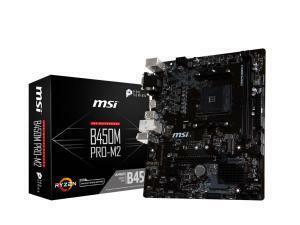 MSI B450M Pro-M2 AMD AM4 B450 Chipset Micro-ATX Motherboard