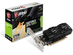MSI NVIDIA GeForce GTX 1050 TI Low Profile 4GB GDDR5 Graphics Card