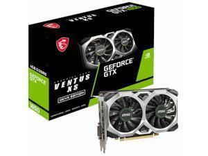 MSI NVIDIA GeForce GTX 1650 D6 VENTUS XS OCV2 4GB GDDR6