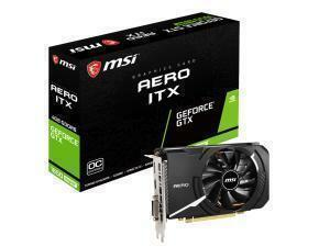 MSI GeForce GTX 1650 Super Aero ITX OC 4GB Graphics Card