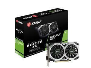 MSI GeForce GTX 1650 Ventus XS 4G OC 4GB GPU/Graphics Card