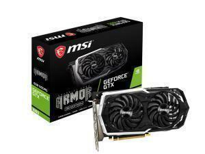 MSI GeForce GTX 1660 ARMOR 6G OC 6GB Graphics Card
