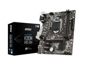 MSI H310M PRO-VDH LGA1151 H310 Micro-ATX Motherboard