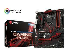 MSI H370 Gaming Plus LGA1151 H370 ATX Motherboard
