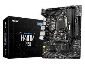 MSI H410M Pro LGA1200 H410 Chipset Micro-ATX Motherboard