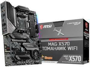 MSI MAG X570 TOMAHAWK WIFI AMD X570 Chipset Socket AM4 ATX Motherboard