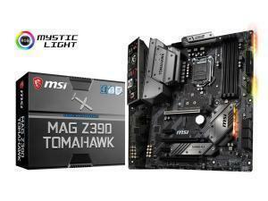 MSI Mag Z390 Tomahawk Z390 LGA 1151 ATX Motherboard