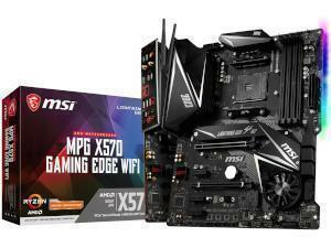 MSI MPG X570 GAMING EDGE WIFI AMD X570 Chipset (Socket AM4) ATX Motherboard
