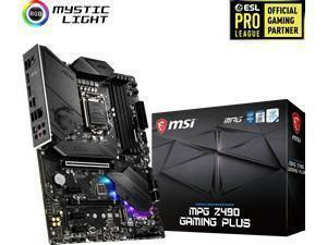 MSI MPG Z490 GAMING PLUS LGA1200 Z490 Chipset ATX Motherboard