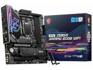 MSI MPG Z590M GAMING EDGE WIFI Intel Z590 Chipset Socket 1200 Motherboard