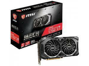 MSI Radeon RX 5700 XT Mech OC 8GB GDDR6 Navi Graphics Card