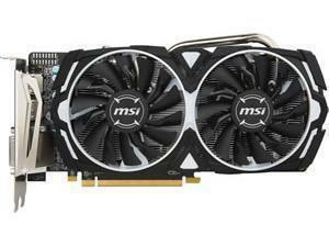 MSI Radeon RX 570 ARMOR 4G OC Graphics Card