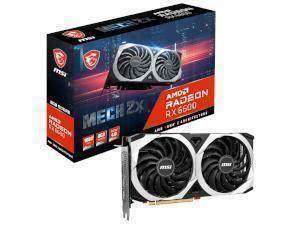 MSI AMD Radeon RX 6600 Mech 2X 8GB GDDR6 Graphics Card
