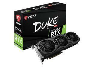 MSI GeForce RTX 2080 DUKE 8GB OC GDDR6 Graphics Card