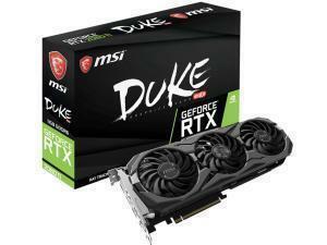 MSI GeForce RTX 2080 Ti DUKE 11GB OC GDDR6 Graphics Card