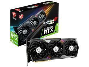 MSI NVIDIA GeForce RTX 3070 Gaming Z Trio LHR 8GB GDDR6 Graphics Card
