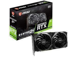 MSI NVIDIA GeForce RTX 3070 VENTUS 2X OC 8GB GDDR6 Graphics Card